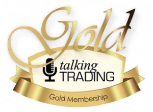 talking trading gold membership logo